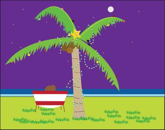 Fundo do oceano tropical