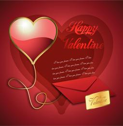 Feliz diablo de San Valentin