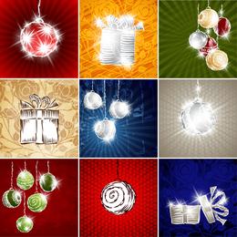 Starstudded Christmas Background 2