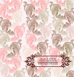 Pink Pattern Background 3
