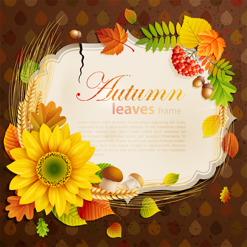 Beautiful Autumn Leaves 4 - Vector download