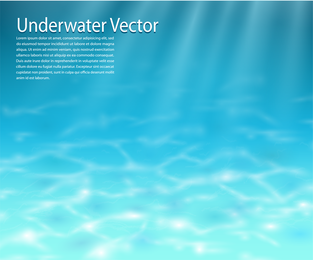 Vetor de fundo subaquático