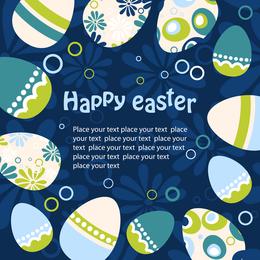 Ilustração de ovo de Páscoa 3