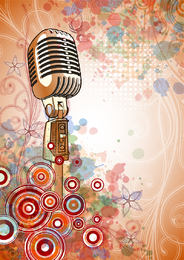 Microphone Bright Background 3