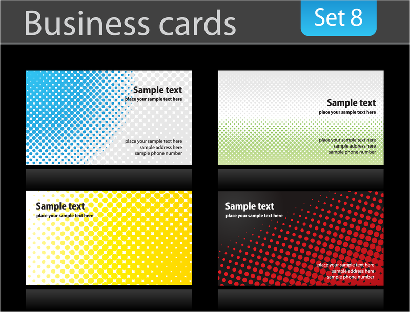 Business Card Background 3 Vector Download
