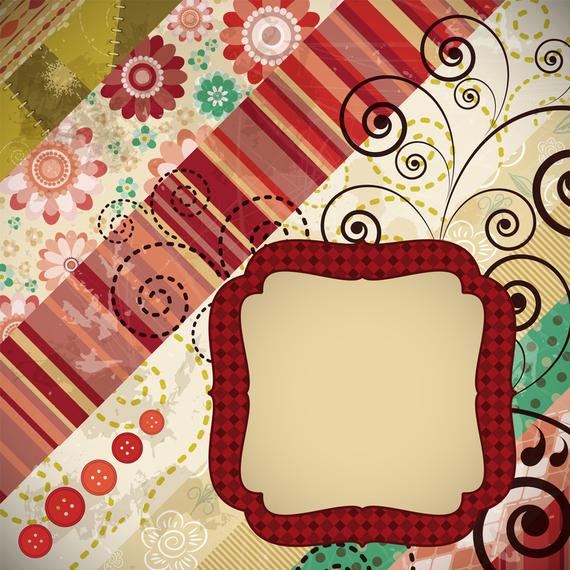 Patchwork Pattern Background 4