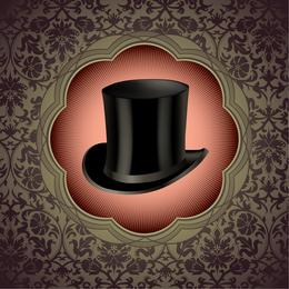 Ornamental Gentleman Top Hat