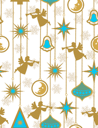 Delicate Christmas wallpaper