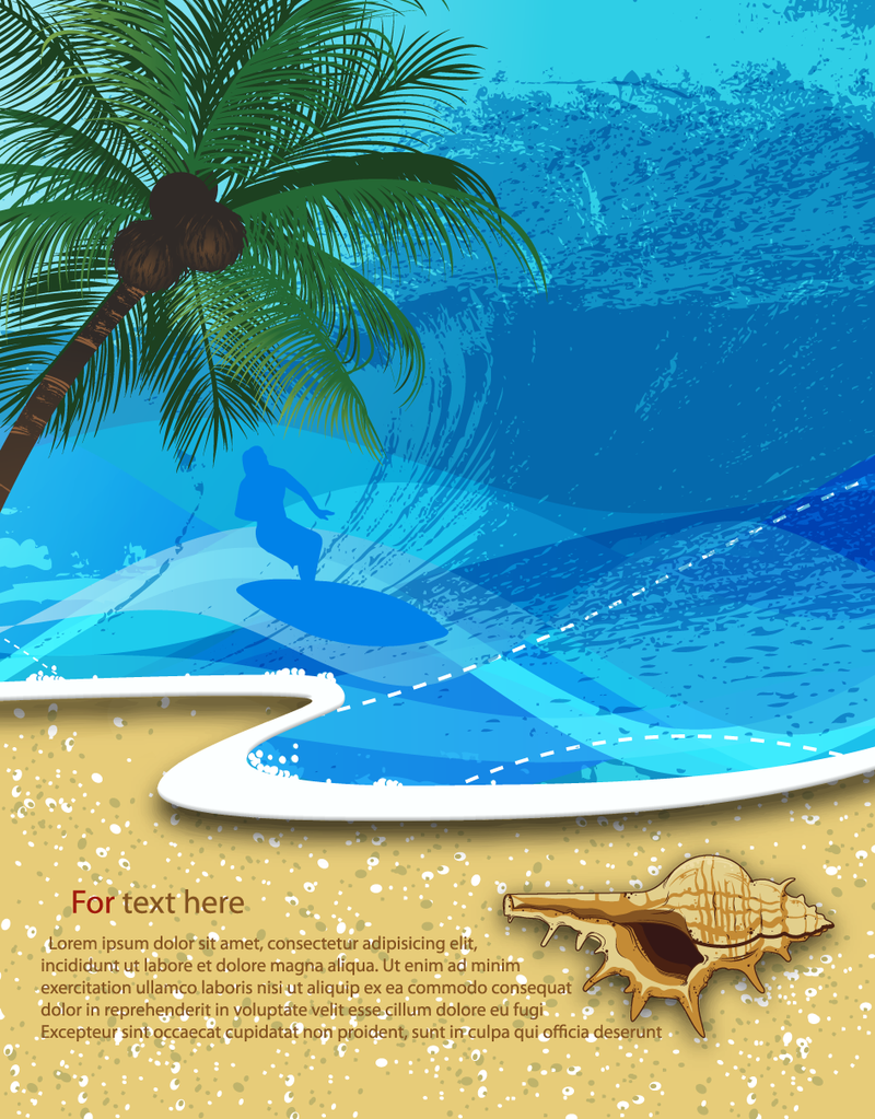 Summer Beach Background 7 Download Large Image 800x1023px License User