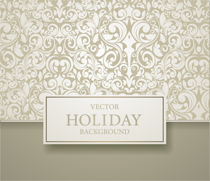 Beige swirl pattern background design