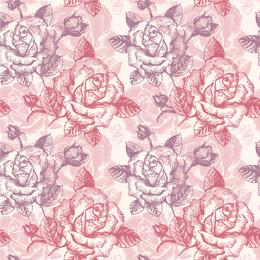 Fondo rosa patrón 5