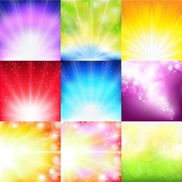 Luz de fundo multicolor