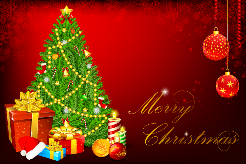Beautiful Christmas Background.Beautiful Christmas Background 47 Vector Download