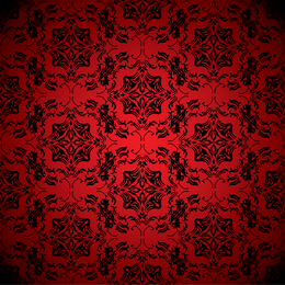 Red Background Pattern 5
