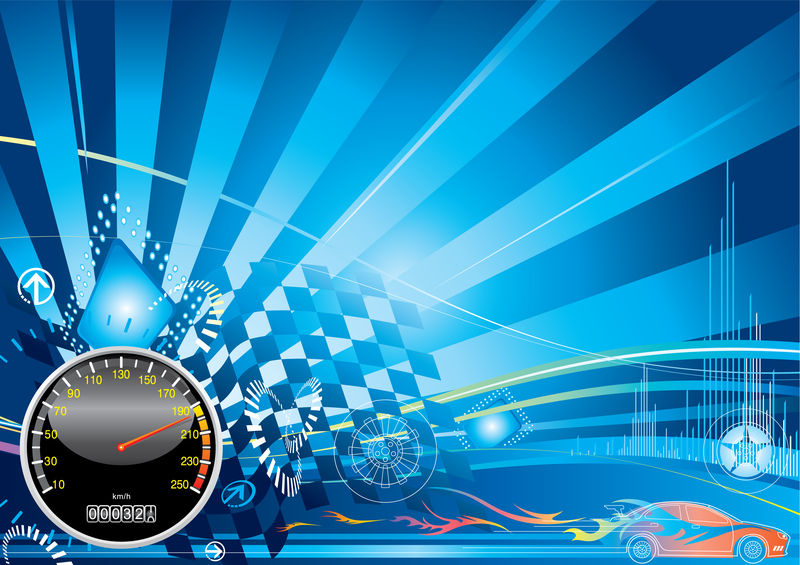 Racing Theme Background 4 Vector Download
