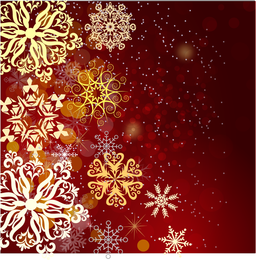 Red Christmas Background 3