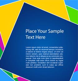 Colourful Square Background