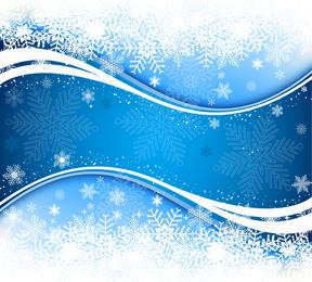 Fundo de neve fresca