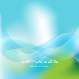 Diseño de fondo azul ola desenfoque