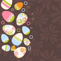 Ilustração de ovo de Páscoa 4