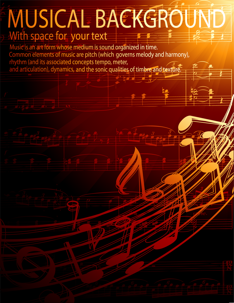 Gorgeous classical music 4 vector download image user biocorpaavc