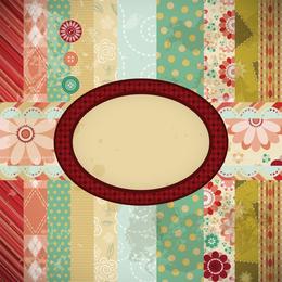 Patchwork Pattern Background 5