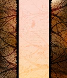 Fundo de silhueta de árvore 5