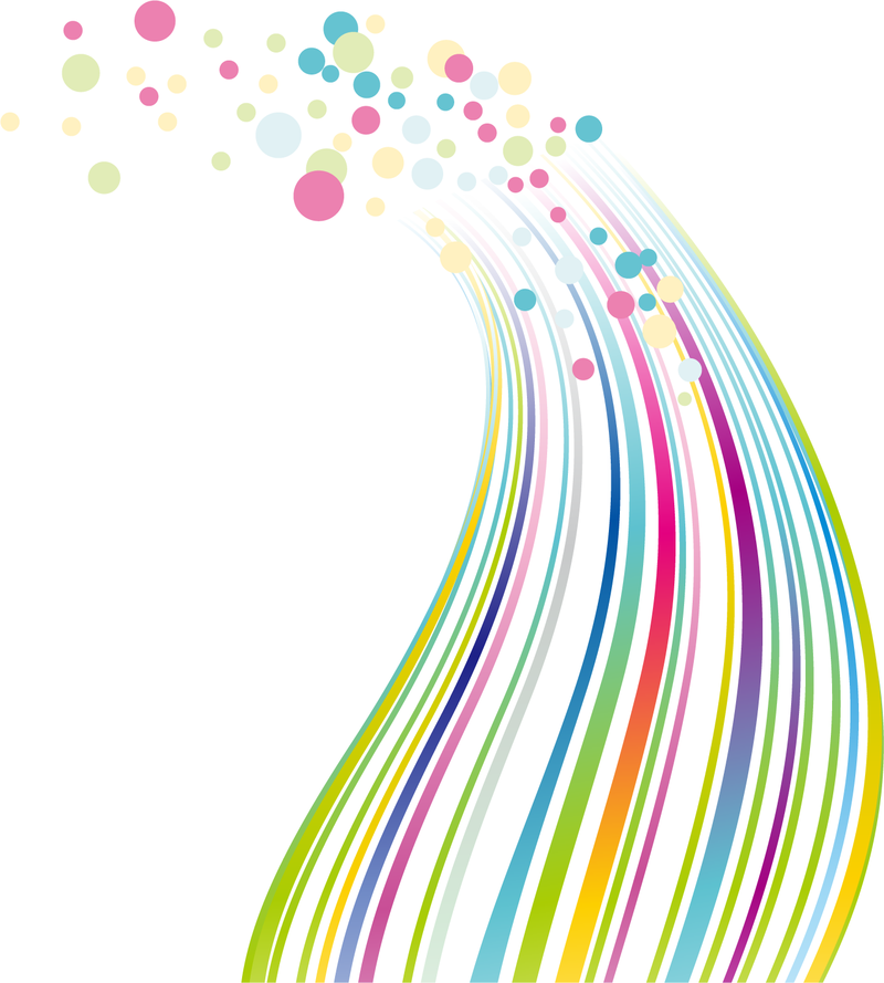 Colorful Abstract Lines Design Vector Download
