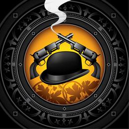 Gentleman Hat Background 3