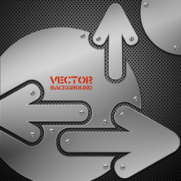 Vector Background Of 7