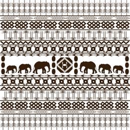 Elephant print pattern