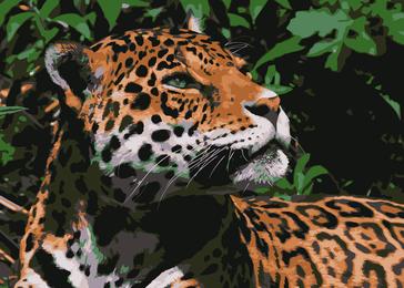 Vector de jaguar