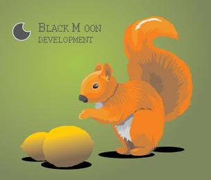 Black Moon Squirrel