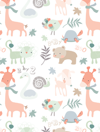 Cute Little Animals Vector