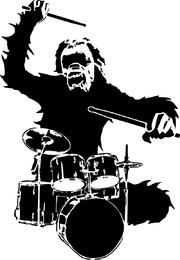 Chimpancé vector 2