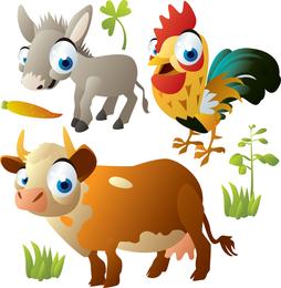 Animal lindo del dibujo animado