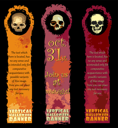 Halloween Banner Element