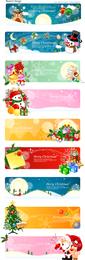 Banner Vector Christmas