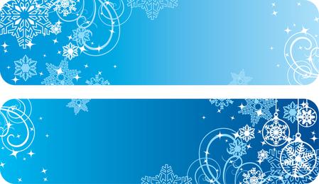Vetor de banner de Natal
