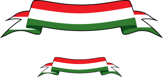 Banner italiano vector