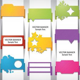 Envolver ángulo Banner01vector