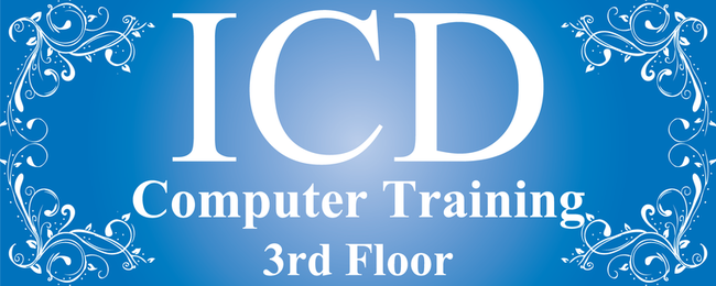 Computer training banner