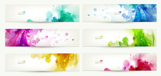 Colorful Banners Vector