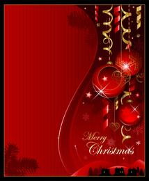 Banner de fondo de Navidad