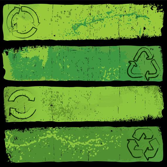 Nostalgic Green Banner