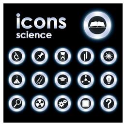 tendência ícone circular 5