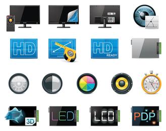 vetor de ícone de tecnologia 4