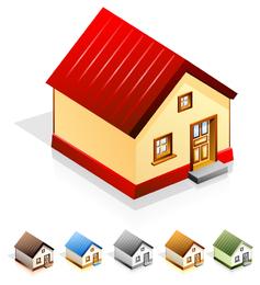 Haus-Vektor-Icon-Set