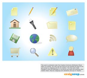 Iconos de diseño gráfico