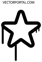 Drippy Star